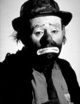 Actor Emmett Kelly