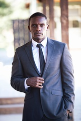 Actor Chris Chalk