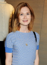 Actor Bonnie Wright