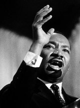 Actor Martin Luther King
