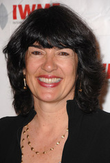Actor Christiane Amanpour