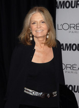 Actor Gloria Steinem