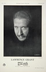 Actor Lawrence Grant