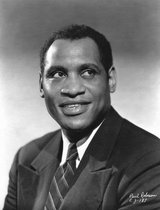 Actor Paul Robeson