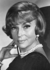 Actor Agnes Moorehead