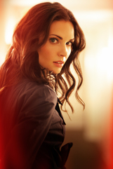 Actor Laura Mennell