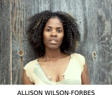 Actor Allison Wilson-Forbes