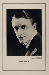 Actor Henry Victor