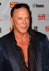 Actor Mickey Rourke