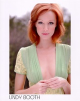 Actor Lindy Booth