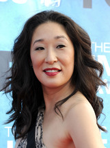 Actor Sandra Oh