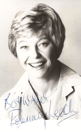 Actor Rosemary Leach