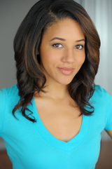 Actor Philicia Saunders