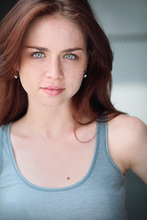 Actor Aimee Spring Fortier