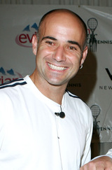 Actor Andre Agassi