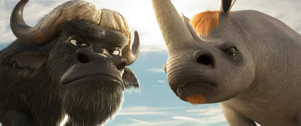 animals united buffalo rhino movies 3d animation zzanyy characters rooster screenshot non pinch anything everything