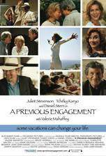 Movie A Previous Engagement