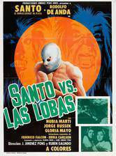 Movie Santo vs. las lobas (Santo vs. the She-Wolves)