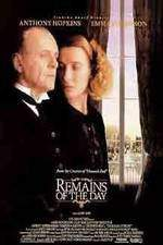 Movie The Remains of the Day