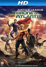 Movie Justice League: Throne of Atlantis