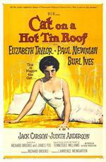 Movie Cat on a Hot Tin Roof