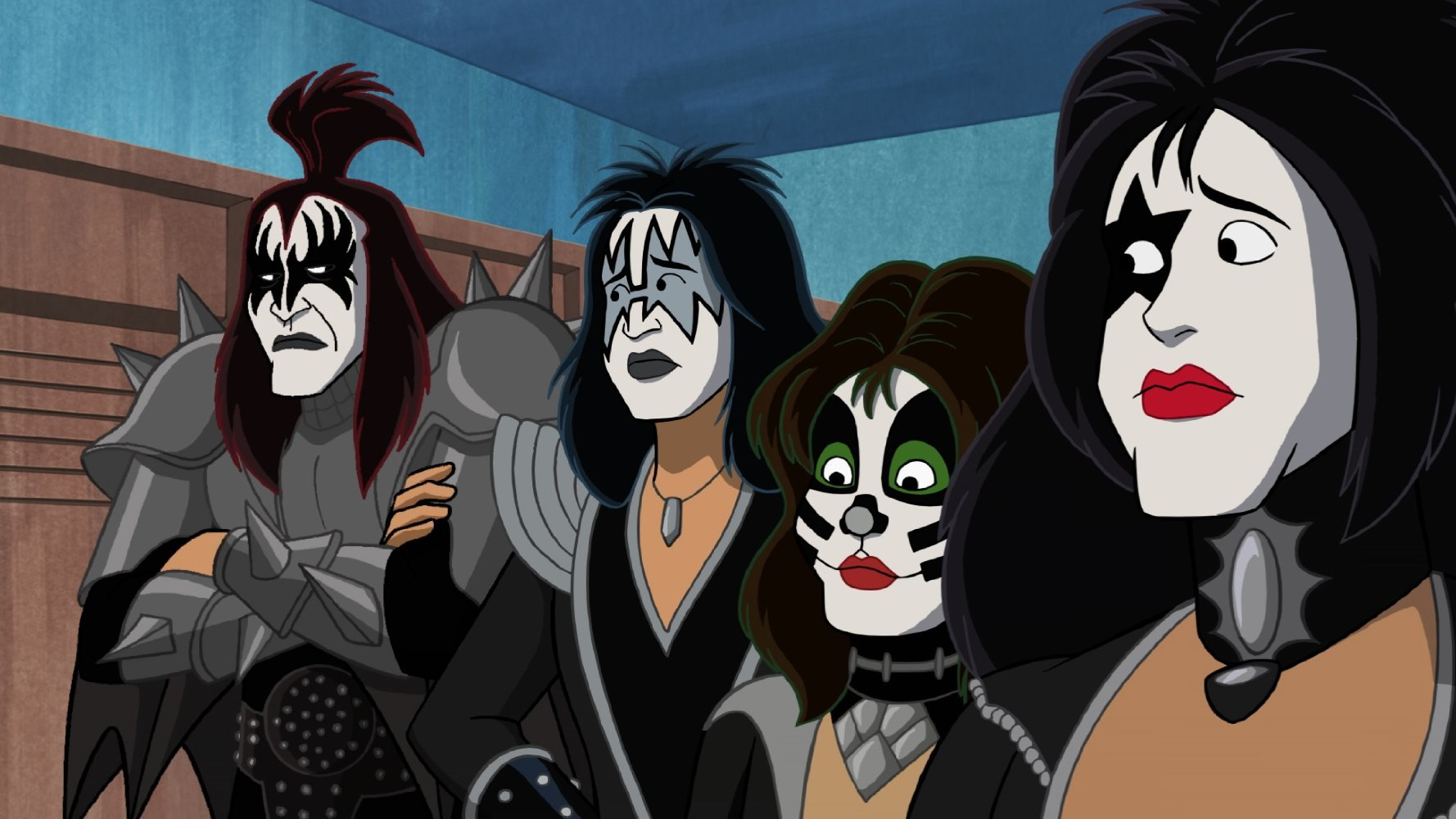 watch scoobydoo and kiss rock and roll mystery 2015