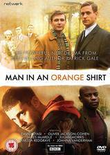 Movie Man in an Orange Shirt