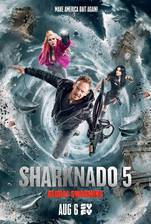 Movie Sharknado 5: Global Swarming