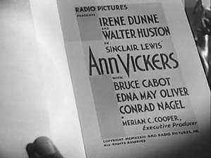 Movie Ann Vickers