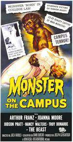 Movie Monster on the Campus