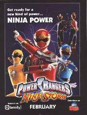 Movie Power Rangers Ninja Storm
